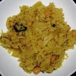 Chana Pulao (Chickpea Rice)
