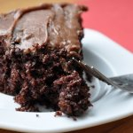 Eggless Mocha Chocolate Cake (REDUCED FAT & 246 Calories)