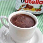 Nutella Hot Chocolate… Guilt-Free, sorta!