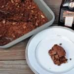 Cointreau Walnut Brownies flavored with Orange Liqueur