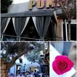West Hollywood's Sexy Garden Restaurant at Pump   LA