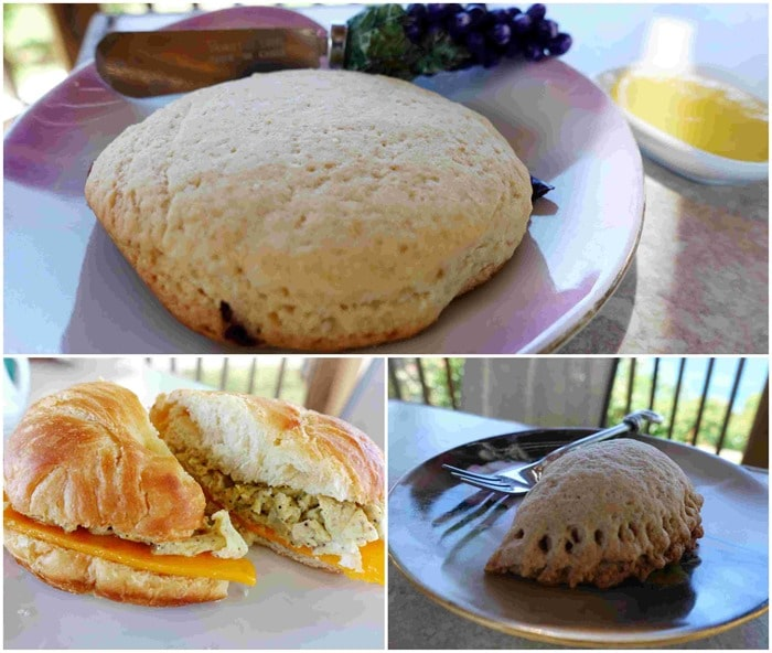 Scones, Croissant - Cup N Kettle Tea House - St. Thomas USVI