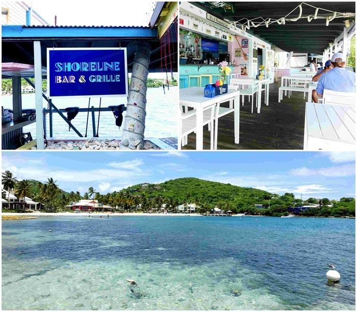 Shoreline Cafe St Thomas