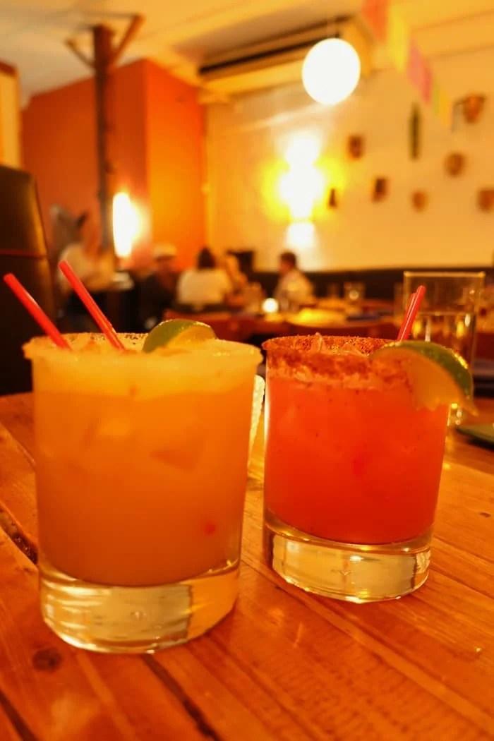Dulce Vida, Watermelon Margarita - Papatzul, NYC