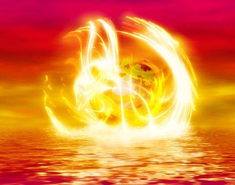 fondo mar en llamas firefox