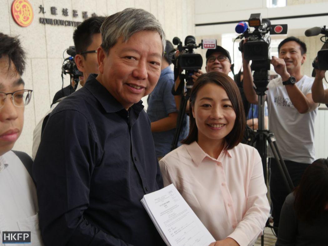 Flipboard Labour Partys Lee Cheuk Yan Enters Kowloon