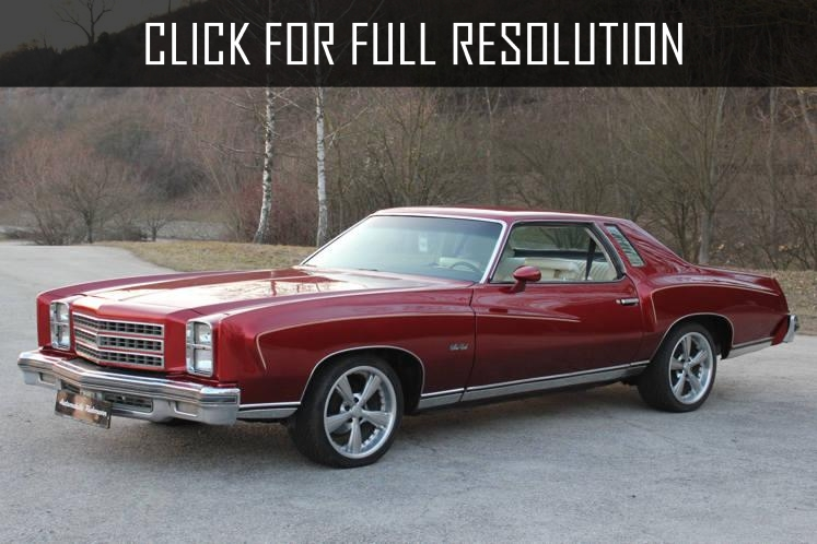 Chevrolet Monte Carlo 1976 - reviews, prices, ratings with various