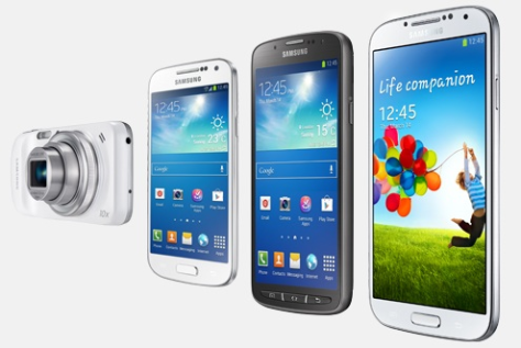 Samsung Galaxy S4 Familie