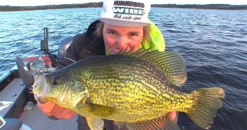 Uncut Angling on late season crappies, with a twist!
