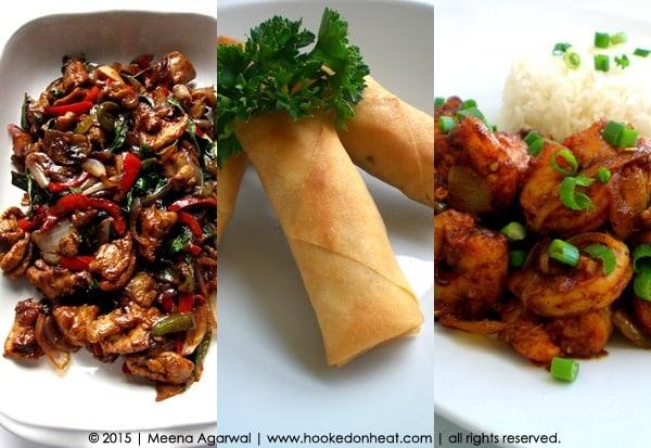 Recipes taken from www.hookedonheat.com