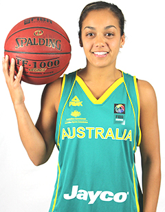 Leilani Mitchell helped the Opals seal a comeback win vs. Japan on July 25, 2014.
