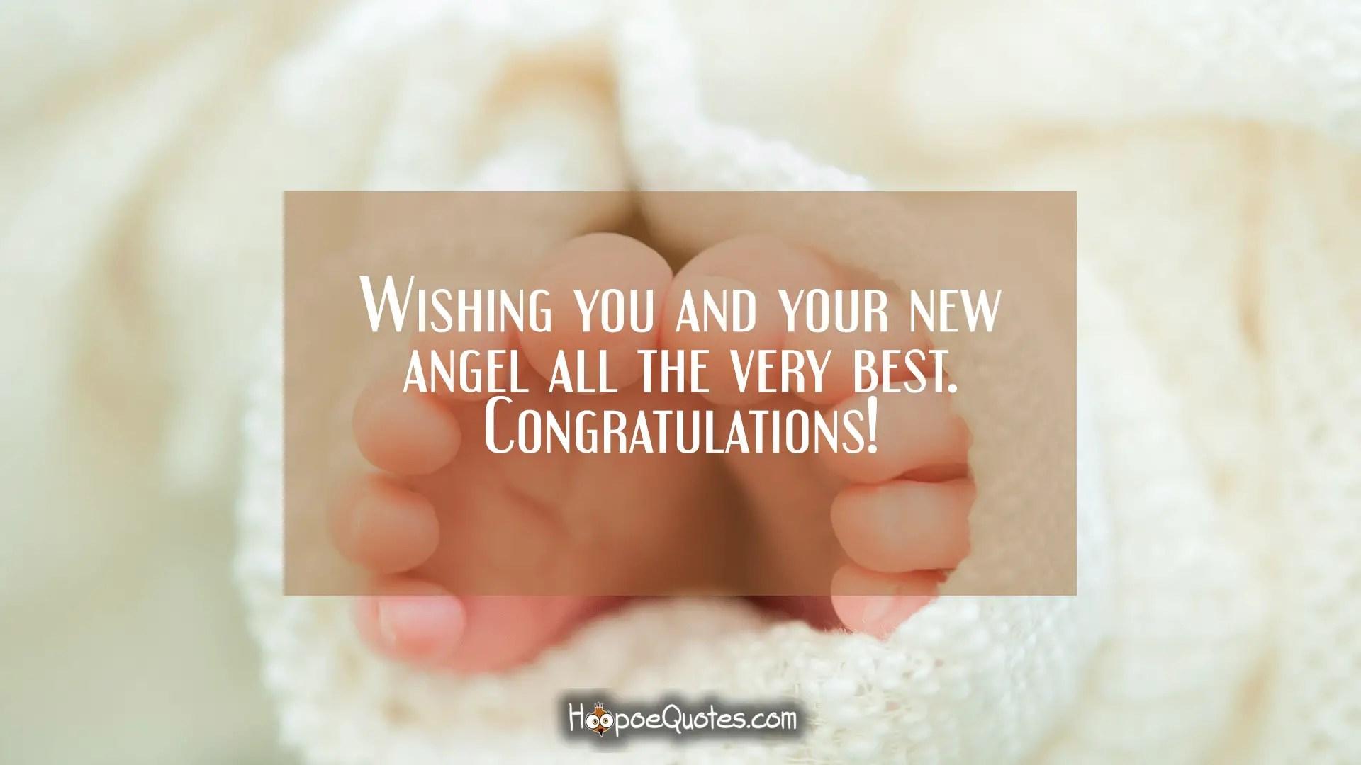 Fullsize Of Congratulations On New Baby