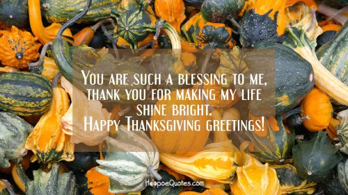 Medium Of Happy Thanksgiving Messages