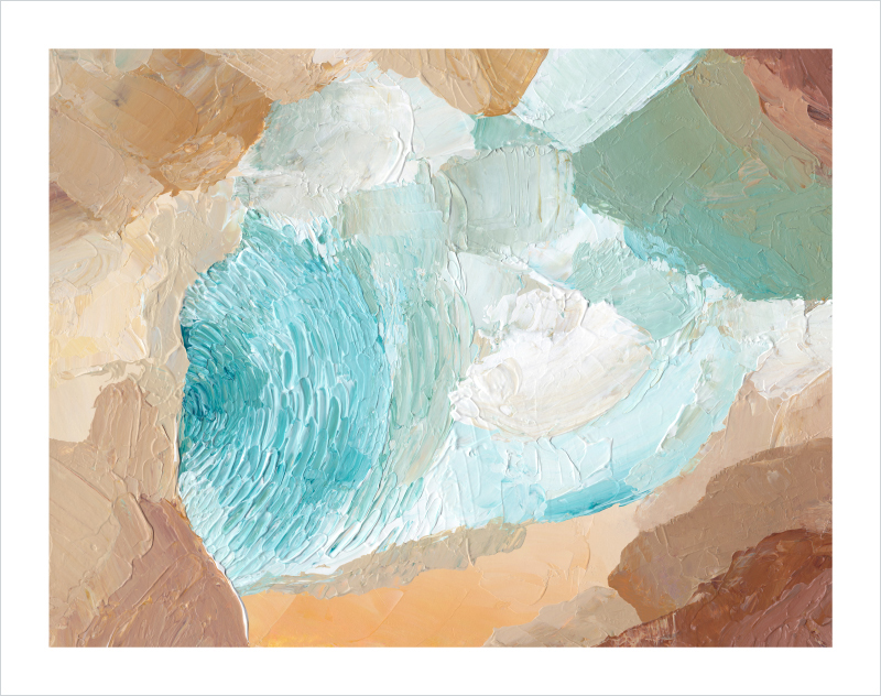 The-Caverns-abstract-painting