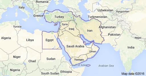 Short Term Missions to Middle East