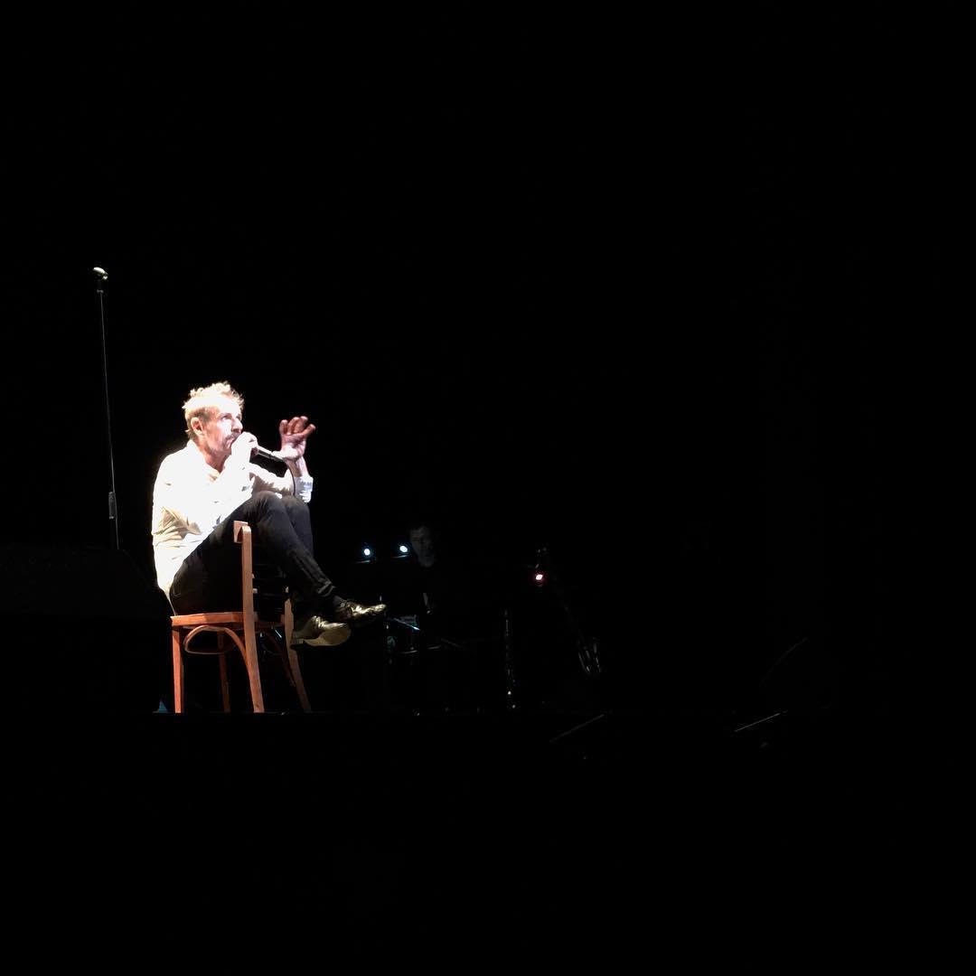 Lambert Wilson chante Montand wow tnm yvesmontand lambertwilson theatre montrealhellip