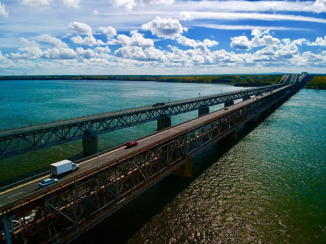 Pont Mercier montreal mtl mtlmoments djispark dji drone drones dronestagramhellip