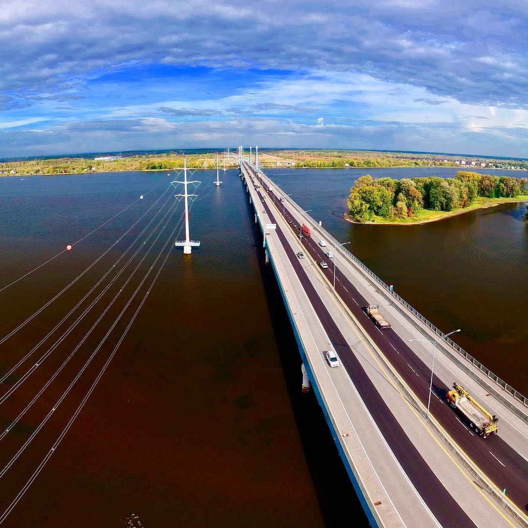 Pont A25  montreal mtl mtlmoments djispark dji drone droneshellip