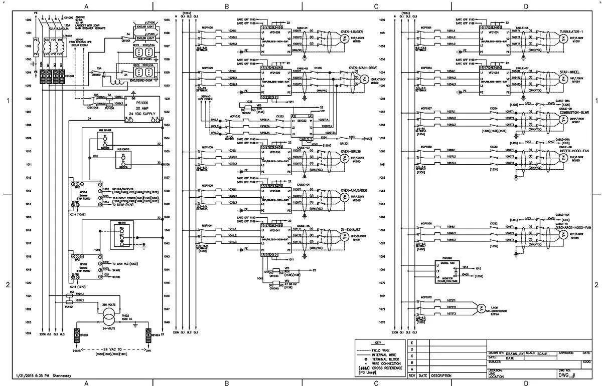 power plant logic diagram