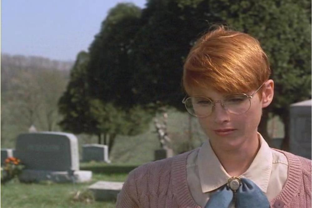 Feminized Barbra at the beginning of the film