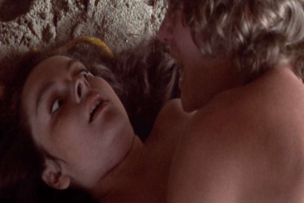 Later in the film, Terry's delusional memory of the rapes shows Tina's shocked face morph into one of pleasure.