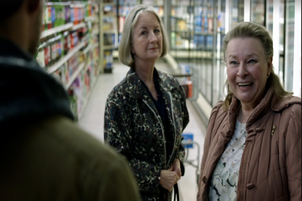 4. Outcast, in grocery store