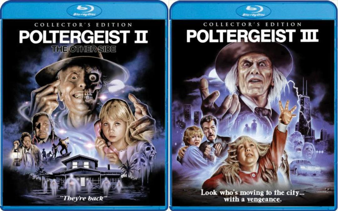 Release Date And Covers For Poltergeist II and III