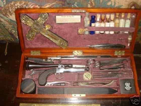Equipment for killing vampires21