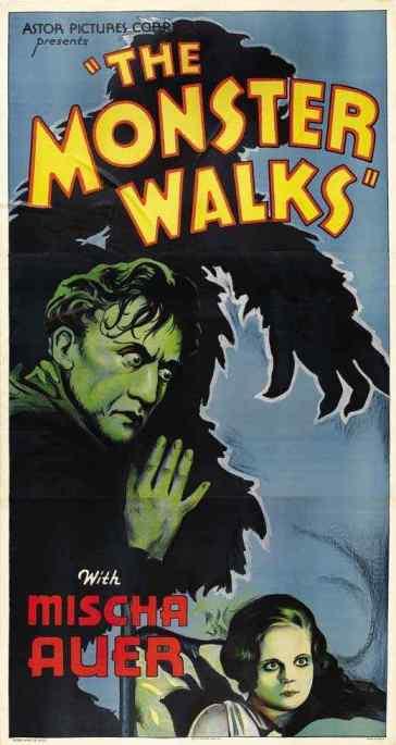 The Monster Walks movie poster