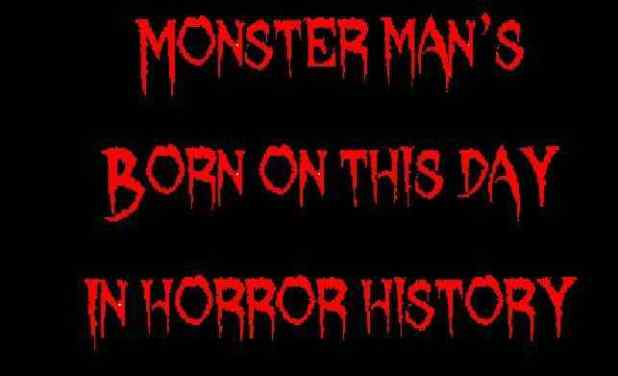 Horror Society: Born on this day in horror history   March 24   www.horrorsociety.com