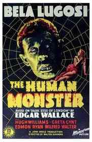 The Human Monster movie poster