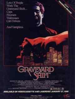 Graveyard Shift 1987 video cover