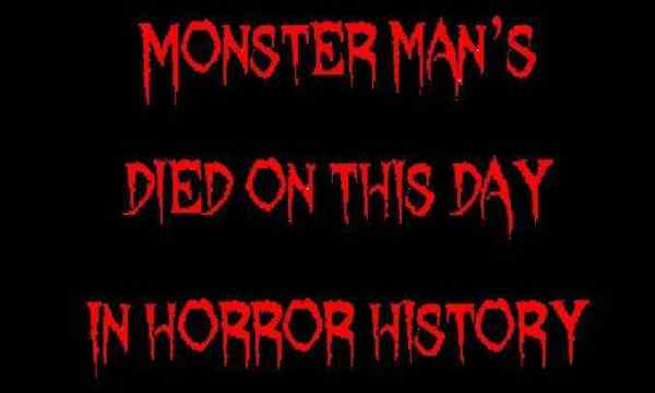 Horror Society: Died on this day in horror history   June 13   www.horrorsociety.com