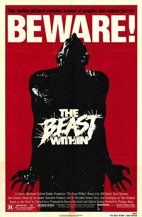 The Beast Within movie poster 2