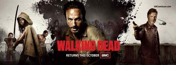 The Walking Dead Season 3 banner