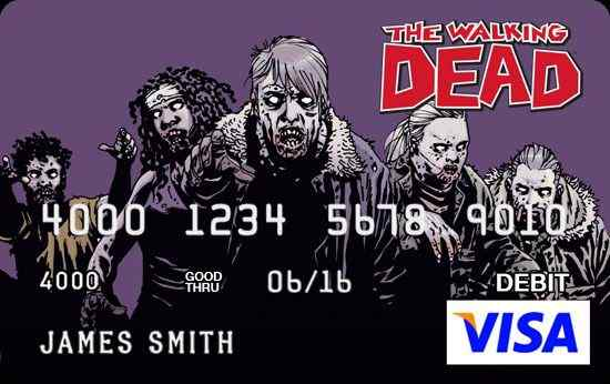 The Walking Dead visa card 2
