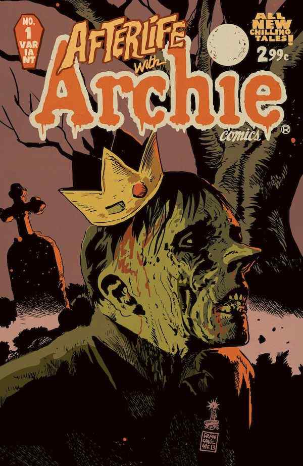 Afterlife With Archie cover