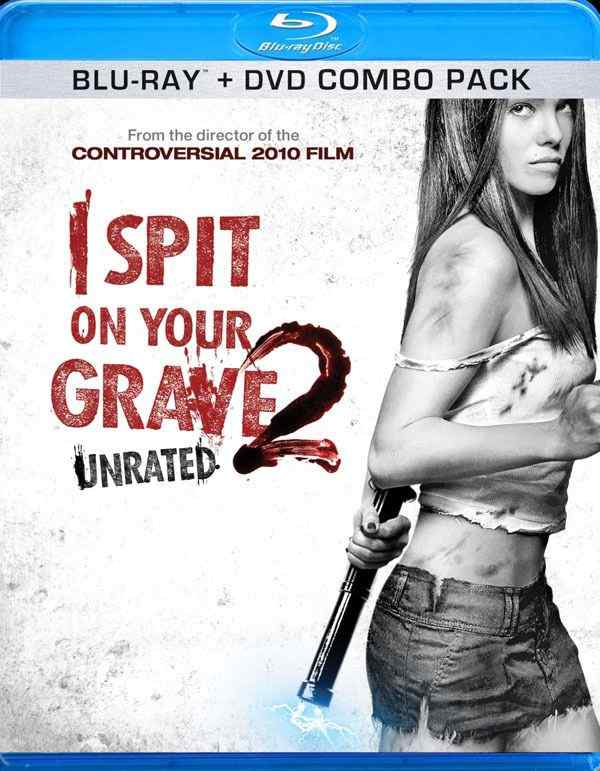 I Spit on your Grave 2 Bluray cover