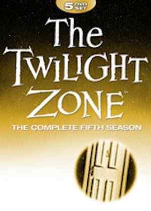 The Twilight Zone Season 5 DVD cover