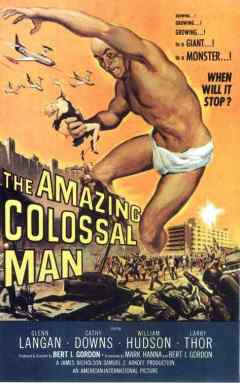 The Amazing Colossal Man movie poster