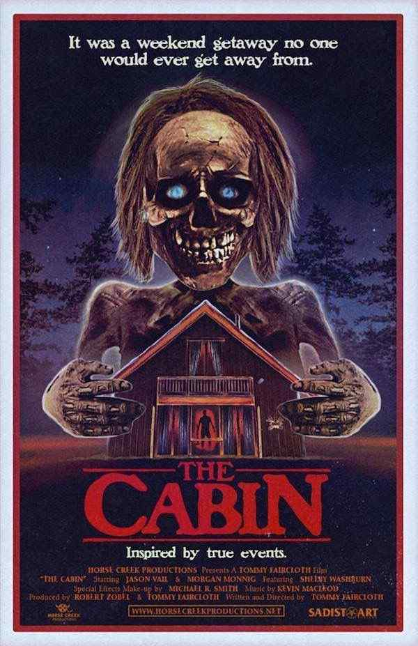 The Cabin movie poster 3