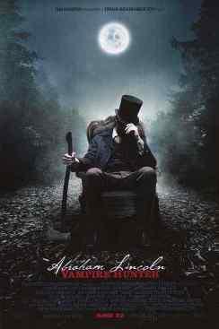 Abraham Lincoln Vampire Hunter movie poster 3