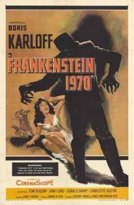 Frankenstein 1970 movie poster