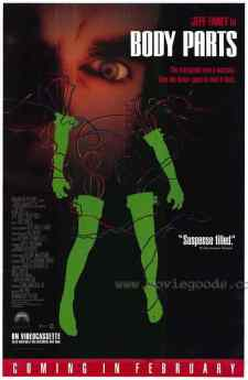 Body Parts movie poster