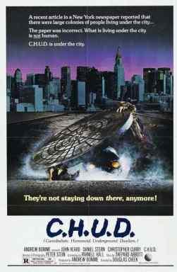 C.H.U.D. movie poster