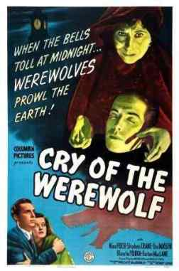 Cry of the Werewolf movie poster