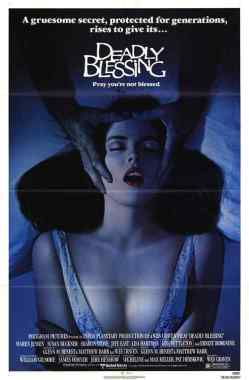 Deadly Blessing movie poster