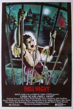 Hell Night movie poster