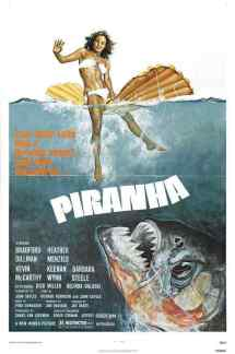 Piranha movie poster