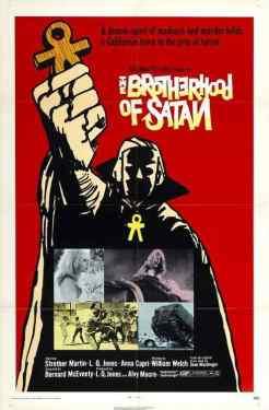 The Brotherhood of Satan movie poster